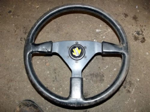 Steering wheel, Mazda MX-5 mk1, Momo, 370mm, with boss, USED 29